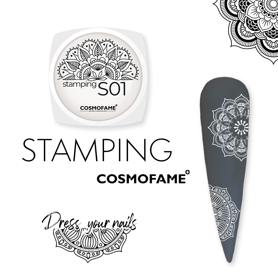 Stamping S01 - dress your nails [Artikelnr. 10379]