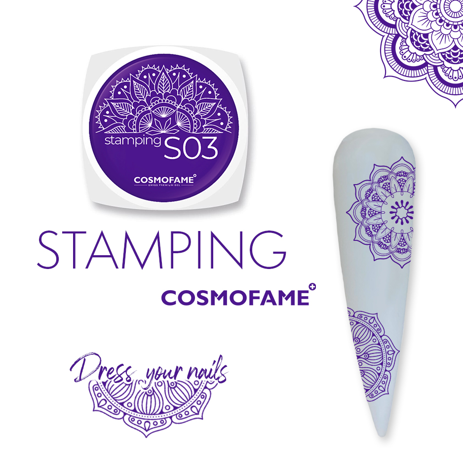 Stamping S03 - dress your nails [Artikelnr. 10381]