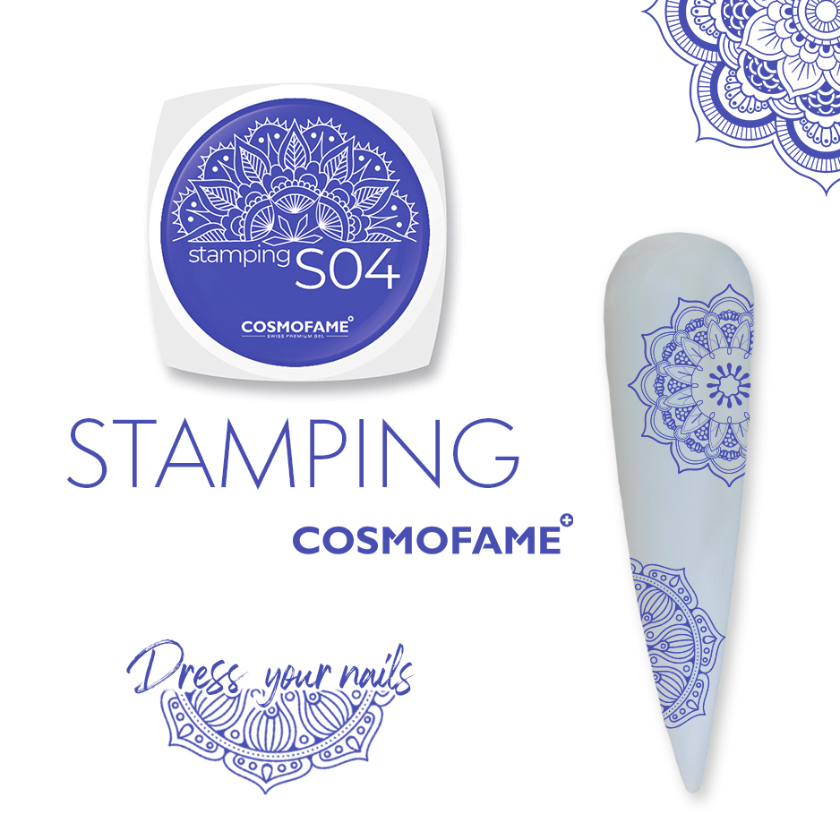 Stamping S04 - dress your nails [Artikelnr. 10382]