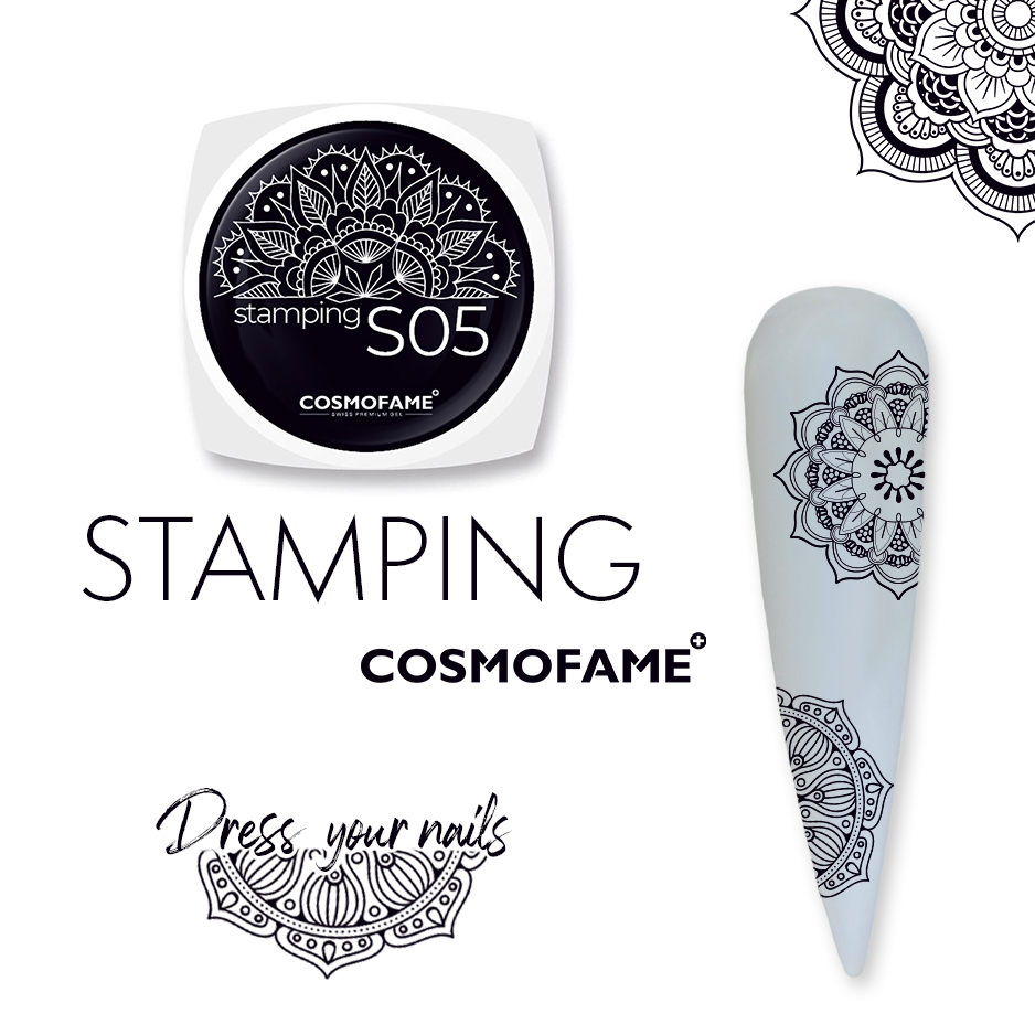 Stamping S05 - dress your nails [Artikelnr. 10383]