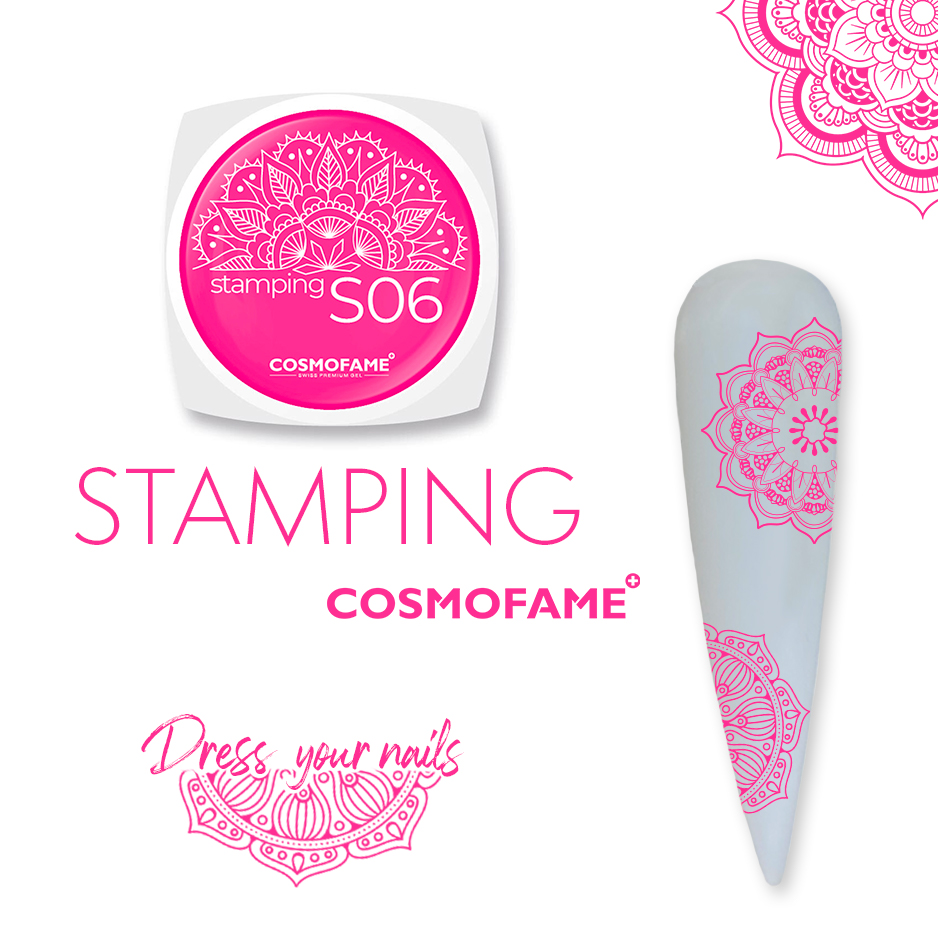 Stamping S06 - dress your nails [Artikelnr. 10384]