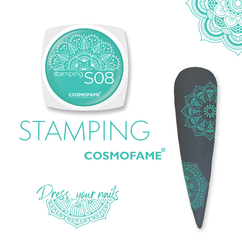 Stamping S08 - dress your nails [Artikelnr. 10386]