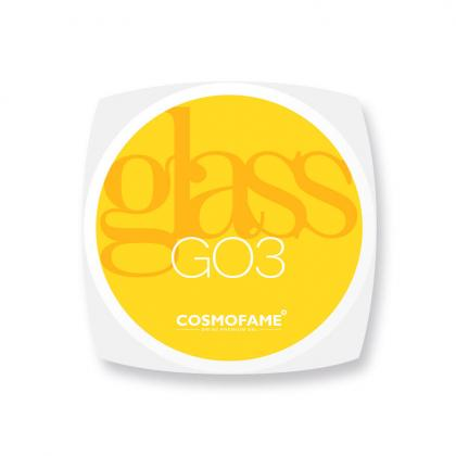Glasgel G03 soft sense of yellow -  [Artikelnr. 10374]
