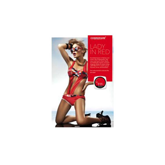Poster «Lady in red» -  [Artikelnr. 115016]