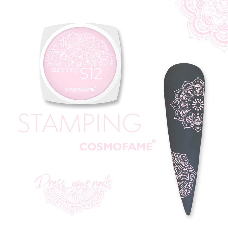 Stamping S12 - dress your nails [Artikelnr. 10390]