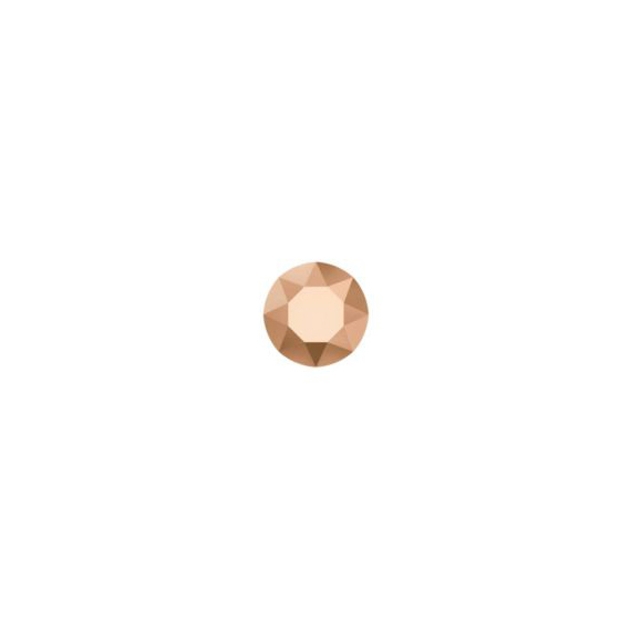 Strass-Steinchen rose gold - <p>Ø 2.6 mm</p> [Artikelnr. 5576]