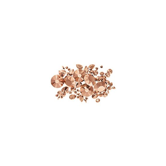 Strass-Steinchen rose gold 3-er Set - <p>Art. Nr. 5529, 5575, 5576</p> [Artikelnr. 5577]