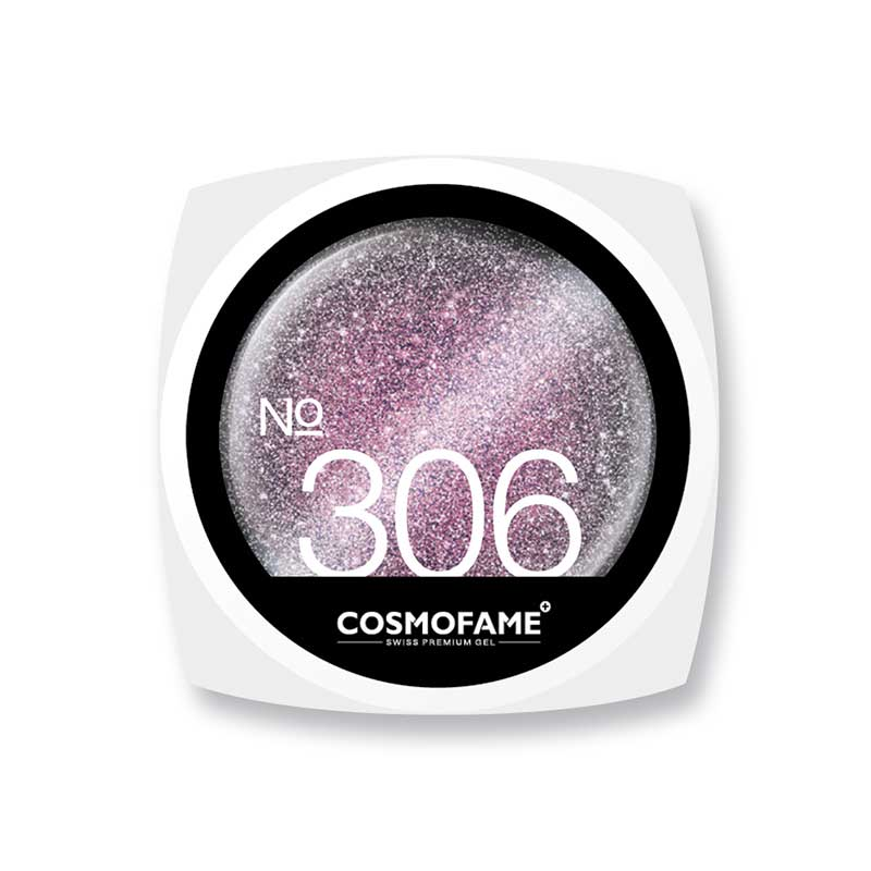 cat eye magnetic 306 «magnetos stardust in silver pink» - Magnetfarbe [Artikelnr. 306]