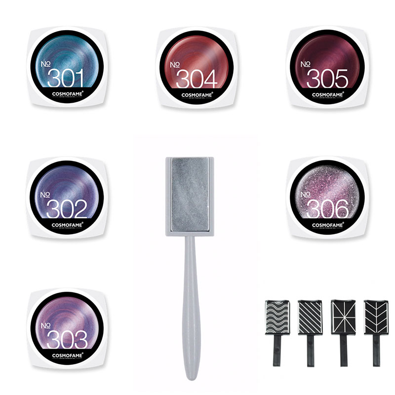 cat eye magnetic set inkl. Magnetsticks  [Artikelnr. 10262]