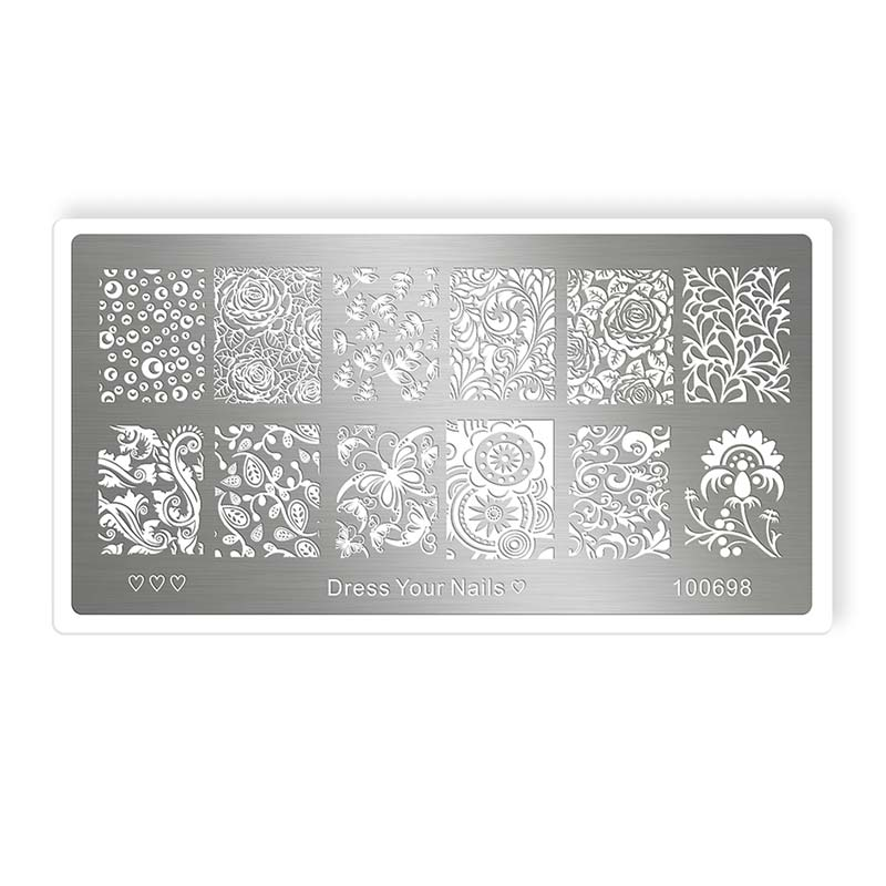 Stamping Template - dress your nails [Artikelnr. 100698]