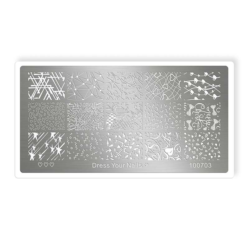 Stamping Template - dress your nails [Artikelnr. 100703]