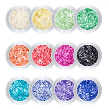 Trend Nail-Art Shell powder Set  [Artikelnr. 100688]